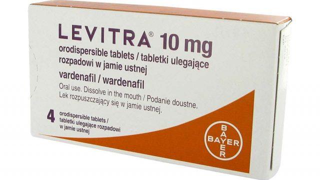 Levitra: instrucciones de uso